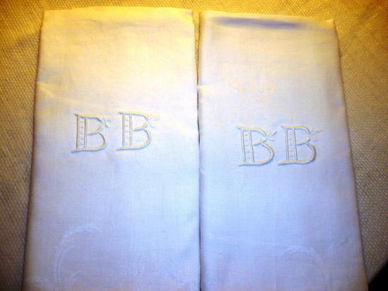 Copie de serviettes anciennes